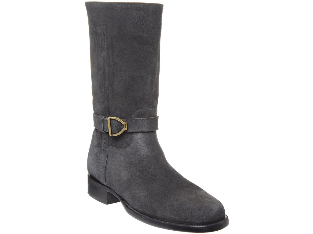 Lucchese Men's Sal Boot in Charcoal - Saratoga Saddlery