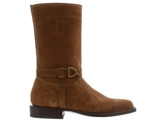 Lucchese Men's Sal Boot in Espresso - Saratoga Saddlery