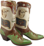 Lucchese North Dakota State Boots - Saratoga Saddlery