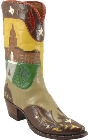 Lucchese Texas State Boots - Saratoga Saddlery