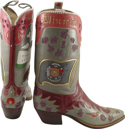 Lucchese Wisconsin State Boots - Saratoga Saddlery