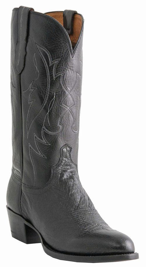 Lucchese Men's Ostrich Boots M1601 - Saratoga Saddlery