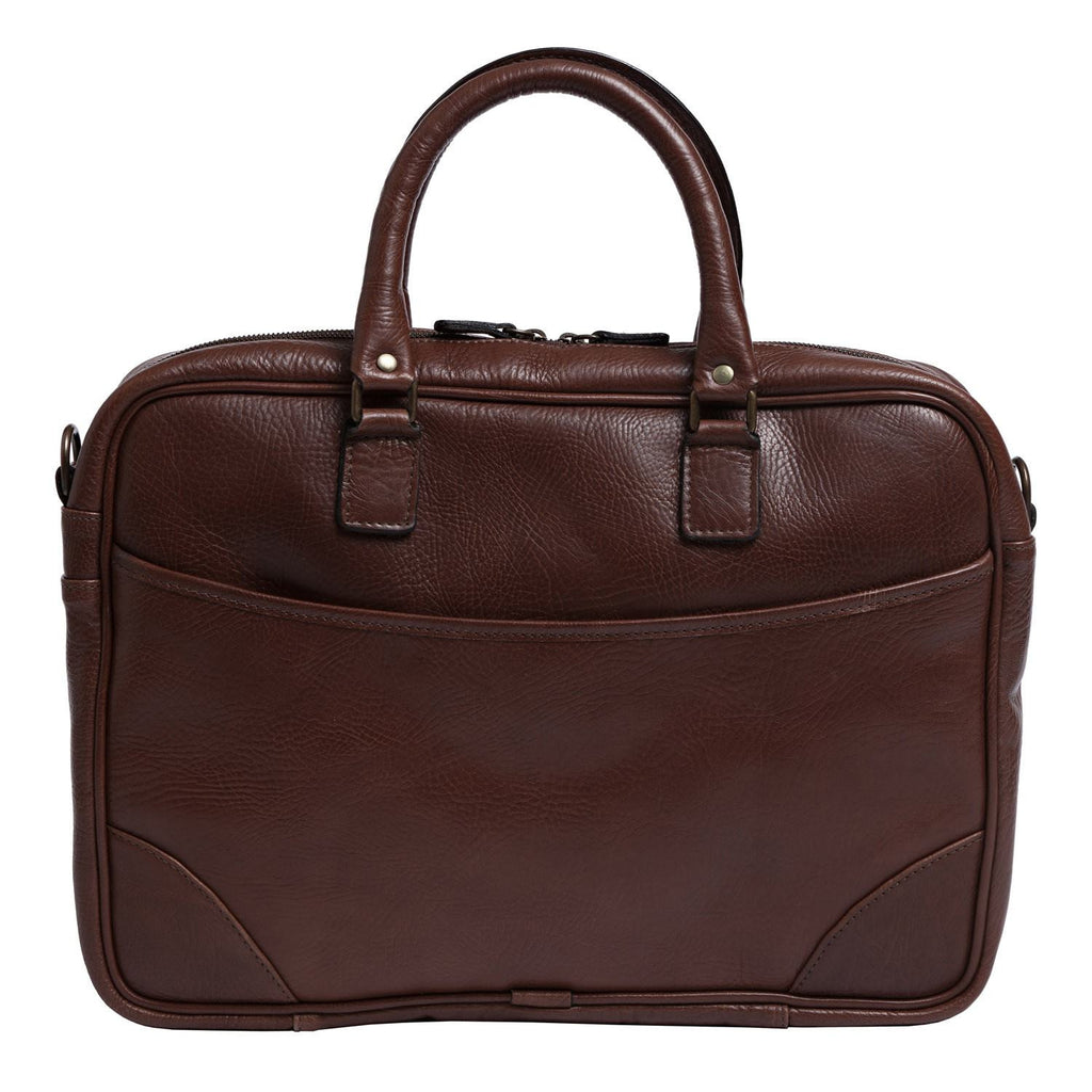 Moore & Giles Torrence Briefcase - Saratoga Saddlery