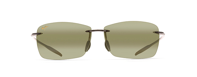 Maui Jim Lighthouse Sunglasses in Trans Smoke Grey with Maui HT Lens