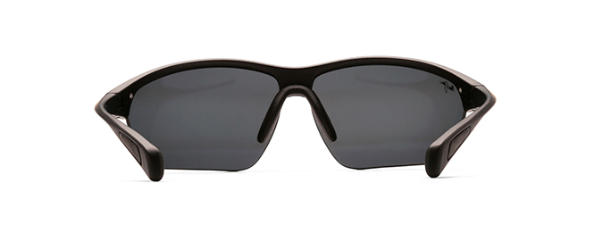 Maui Jim Stone Crushers Sunglasses in Matte Black with Neutral Grey Lens - Saratoga Saddlery & International Boutiques