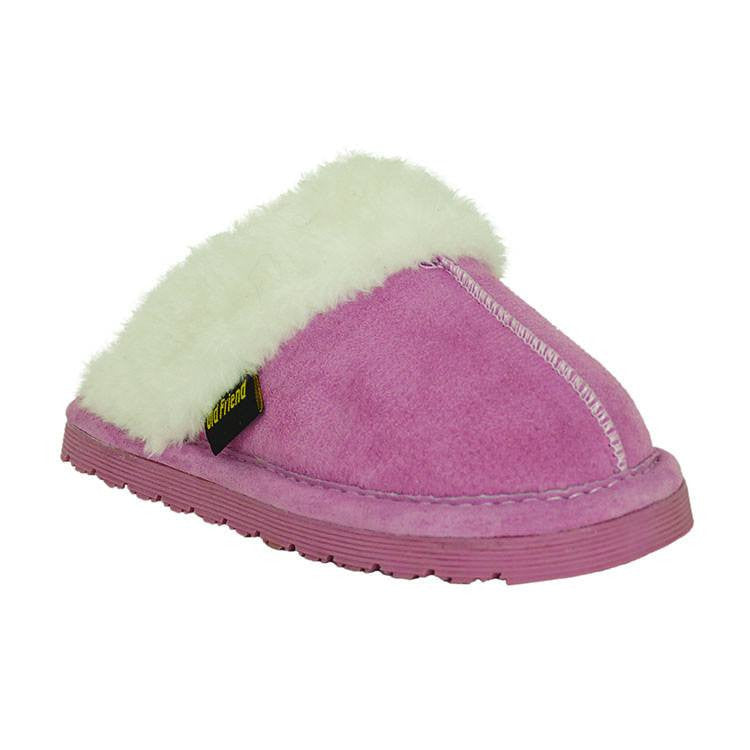 Old Friend Children's Bobcat Slipper Pink - Saratoga Saddlery