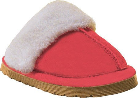 Old Friend Children's Bobcat Slipper Ruby Red