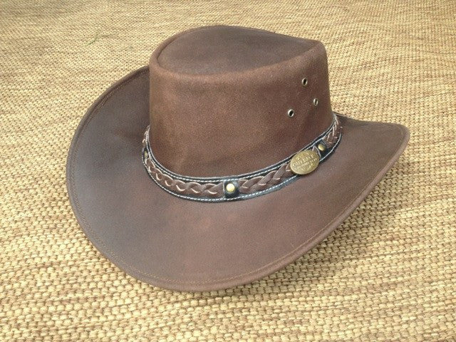 Outback Survival Gear - Buffalo Hat in Brown (H3001) - Saratoga Saddlery & International Boutiques