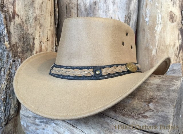 Outback Survival Gear Buffalo Hat H3003 in Sand