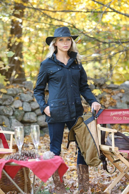 Outback Survival Gear Women's Toorak Oilskin Jacket - Saratoga Saddlery