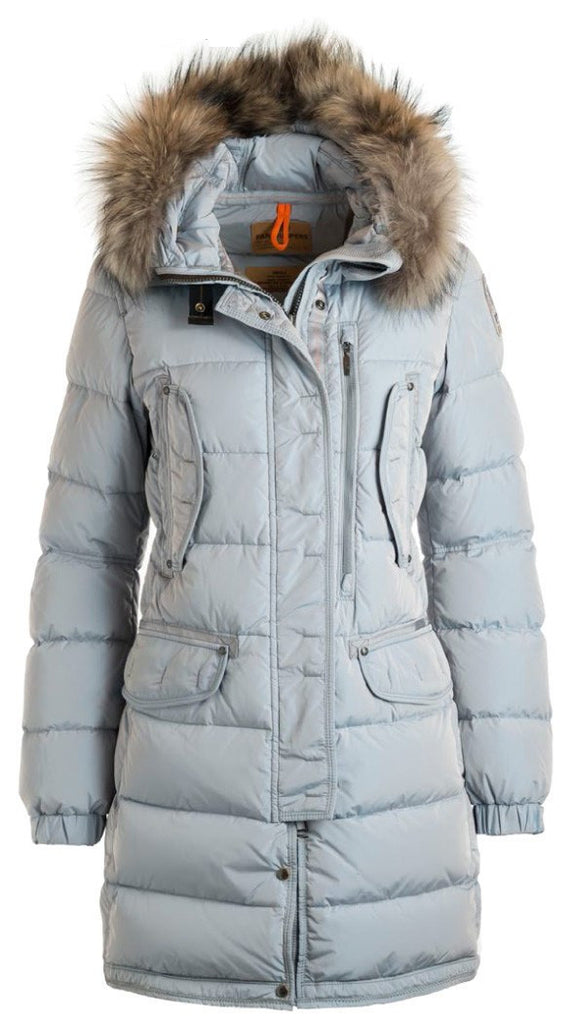 Parajumpers Harraseeket Women's Down Filled Coat in Glacier Blue - Saratoga Saddlery ...