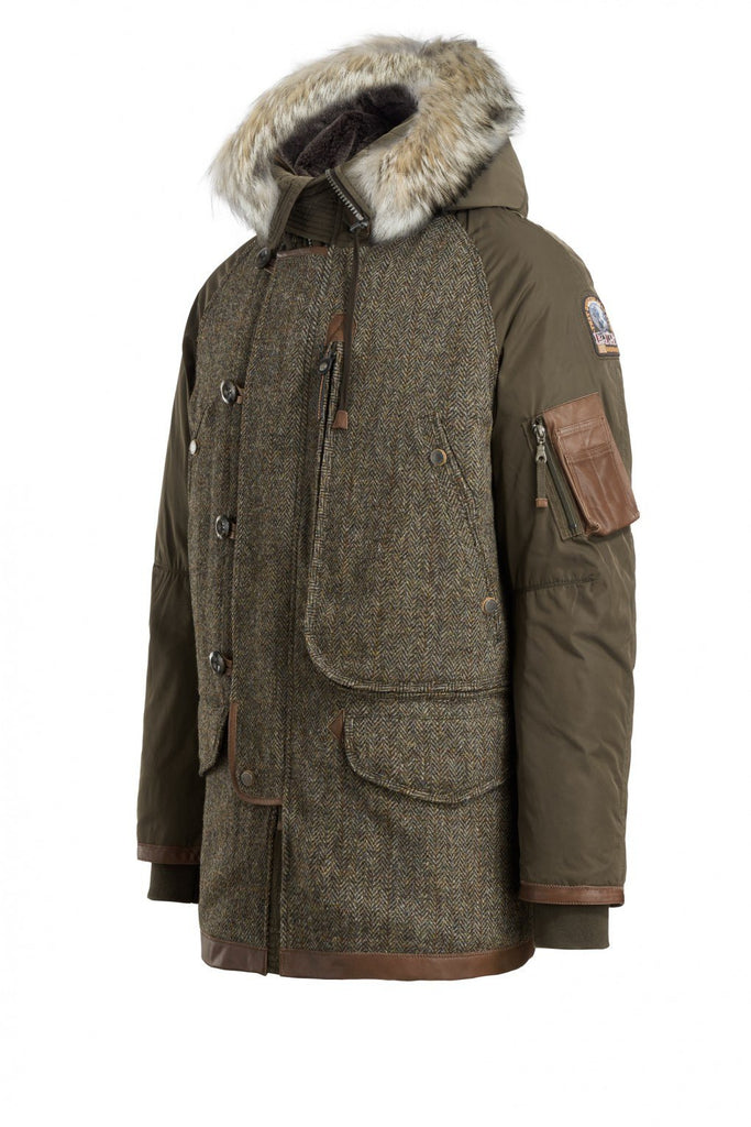 Parajumpers Men's Harris Tweed Coat