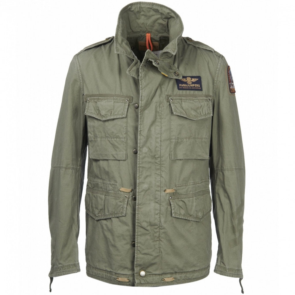 Parajumpers Men's Monroe Jacket in Army - Saratoga Saddlery
