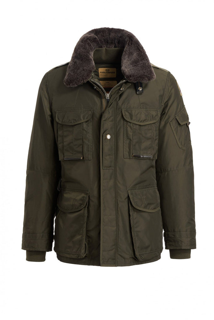 Parajumpers Men's Portland Jacket in Olive Green - Saratoga Saddlery ...