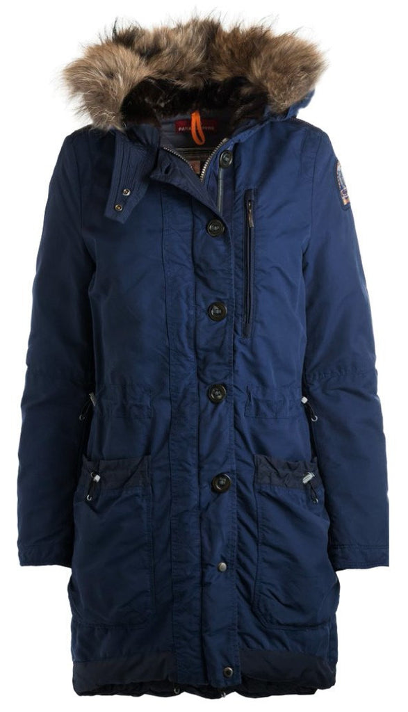Parajumpers Sofia Down Fill Coat in Navy - Saratoga Saddlery