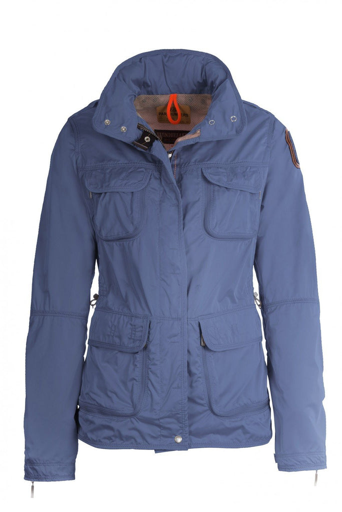 Parajumpers Women's Desert Windbreaker in Dust Blue - Saratoga Saddlery ...