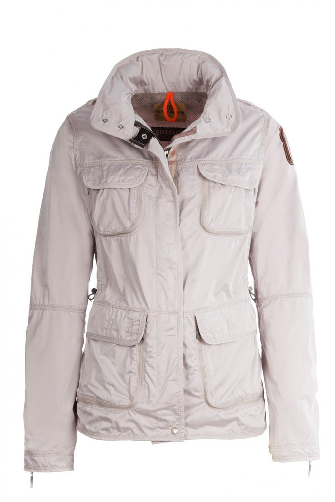 Parajumpers Women's Desert Windbreaker in Ivory - Saratoga Saddlery