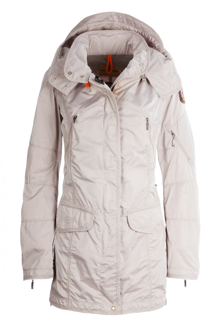 Parajumpers Women's Mary Todd Coat in Ivory - Saratoga Saddlery ...