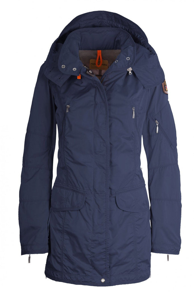 Parajumpers Women's Mary Todd Coat in Ocean - Saratoga Saddlery & International Boutiques