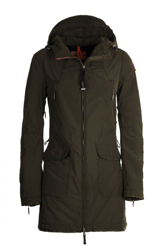 Parajumpers Women's Nikita Coat in Army - Saratoga Saddlery & International Boutiques