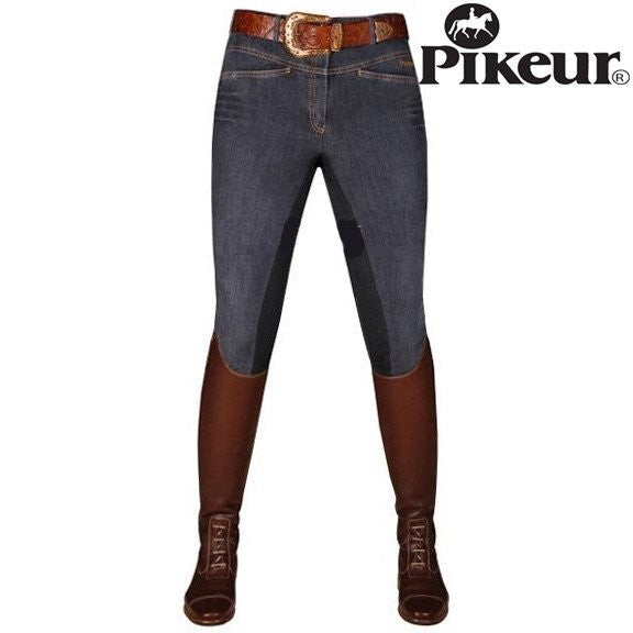 Pikeur Daphne Denim Full Seat Breeches - Saratoga Saddlery & International Boutiques