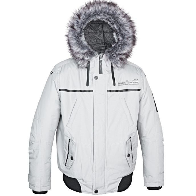 Point Zero Men's Arctic Hooded Bomber Jacket - Saratoga Saddlery