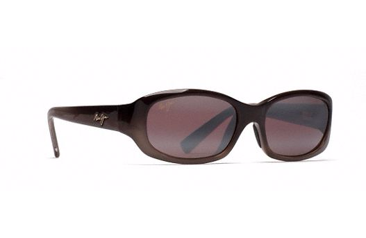 Maui Jim Women's Punchbowl Sunglasses in Chocolate Fade with Rose Lens