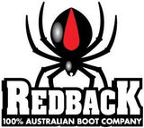 Redback Lace-Up Boot - Black or Brown