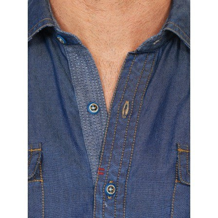 Robert Graham The Deep Sport Shirt in Indigo - Saratoga Saddlery