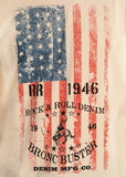 Rock & Roll Cowboy Men's American Flag Graphic Tee - Saratoga Saddlery