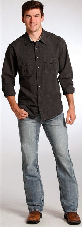 Rock & Roll Cowboy Men's Double Barrel Jeans in Light Wash - Saratoga Saddlery & International Boutiques