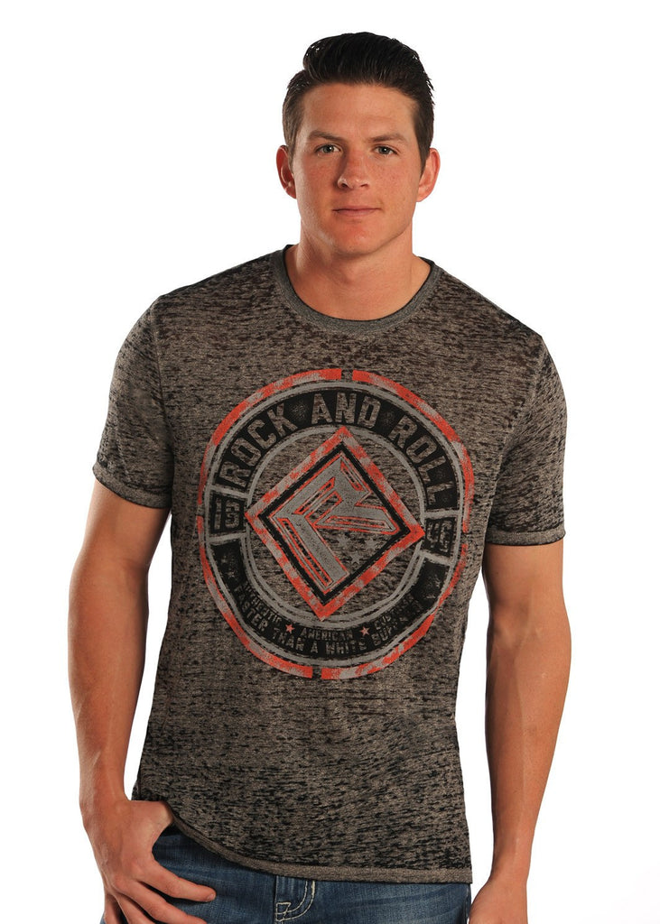 Rock & Roll Cowboy Men's Graphic T-Shirt - Saratoga Saddlery