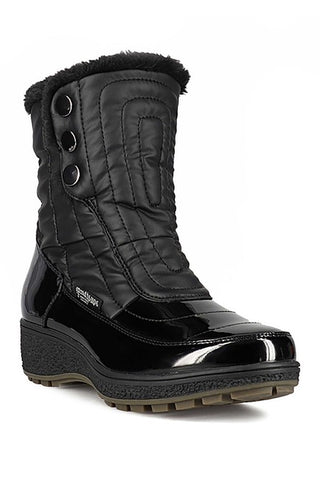 Santana Canada Women's Waterproof Majesta 2 Black Winter Boot Extreme Cold Rated to -30C/-22F. On Sale!