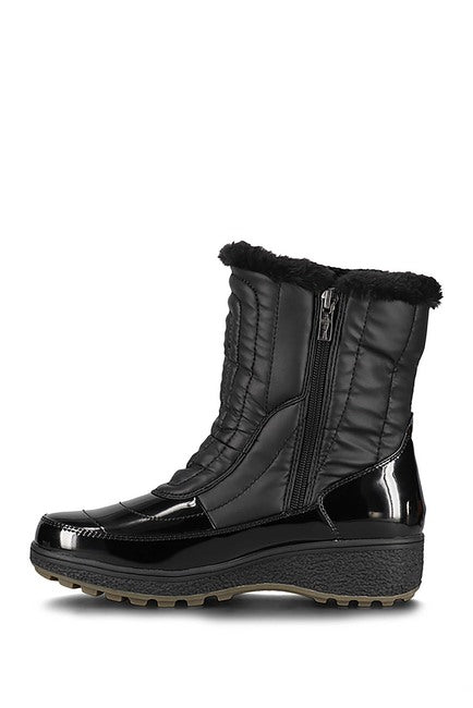Santana Canada Aquatherm Harper Black Boot - Saratoga Saddlery & International Boutiques