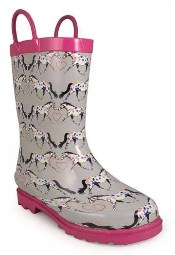 Smoky Mountain Children's Horseplay Rubber Boot - Saratoga Saddlery