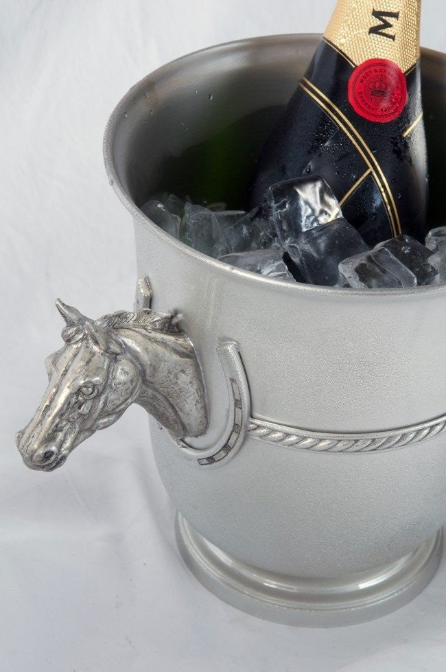 Horse Head Champagne Bucket