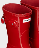 Hunter Original Short Gloss Military Red Rain Boot - Saratoga Saddlery & International Boutiques