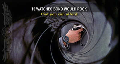 "<BR><font color=""#D3D3D3""><B>10 WATCHES BOND WOULD ROCK </B></FONT><BR><font color=""#BEBEBE"">that you can afford</FONT></B>"
