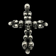 Cross of Skulls | Skull Cross Necklace | Skull Necklaces