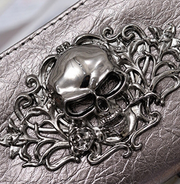 Skull Patterned Wallet