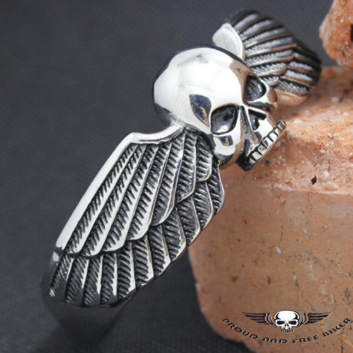 SKULL EAGLE WINGS BRACELET