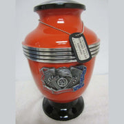 Biker Cremation Urn—V-Twin | Best Biker Cremation Urn—V-Twin | Real Motorcycle V-Twin Cylinder Cremation Urn