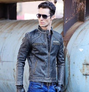 Cafe Indian | Cafe Racer Jackets | Bikers Cafe Racer Jackets