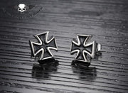 Iron Cross Earrings