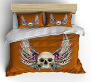Skull & Wings Duvet Cover