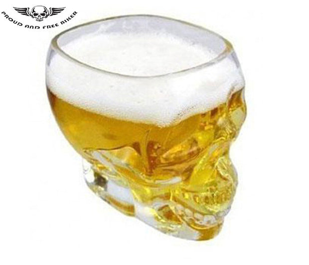 Crystal Skull Glass | Crystal Skull Head Shot Glass | Crystal Skull Shot Glass