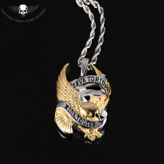 Live To Ride Pendant