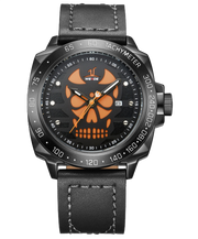 Aviator's Skull Watch | Aviator's Skull Watch For Men's | Best Aviator's Skull Watch
