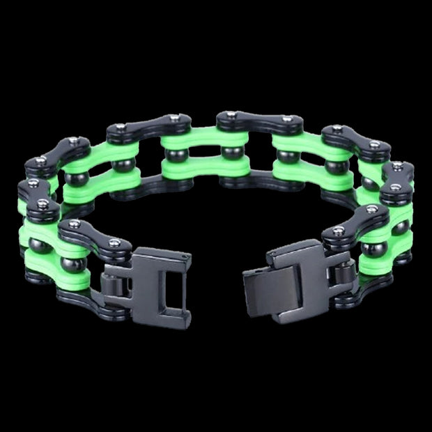 Biker Proud — GR | Biker Proud Motorcycle Chain | Biker Proud Green Chain