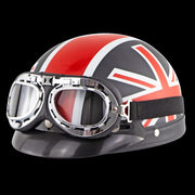 British Invasion DOT Half Helmet | Best Half Helmets | Bikers Half Helmets